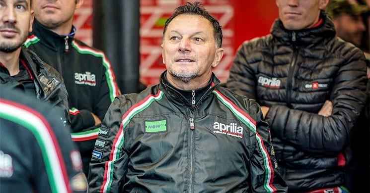 Fausto Gresini mejora lentamente