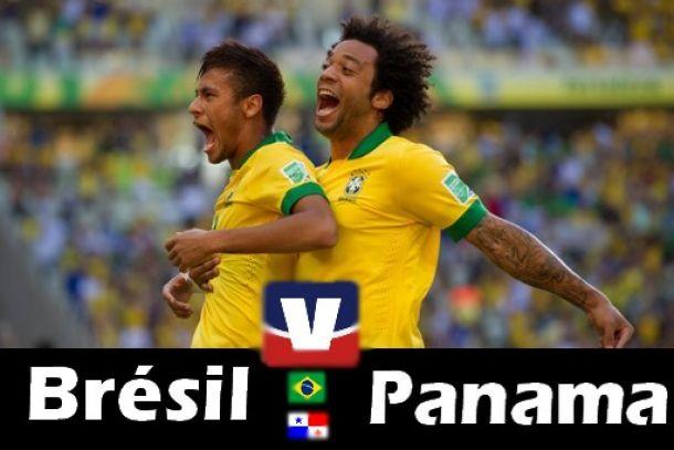 Match Brésil 4-0 Panama 2014