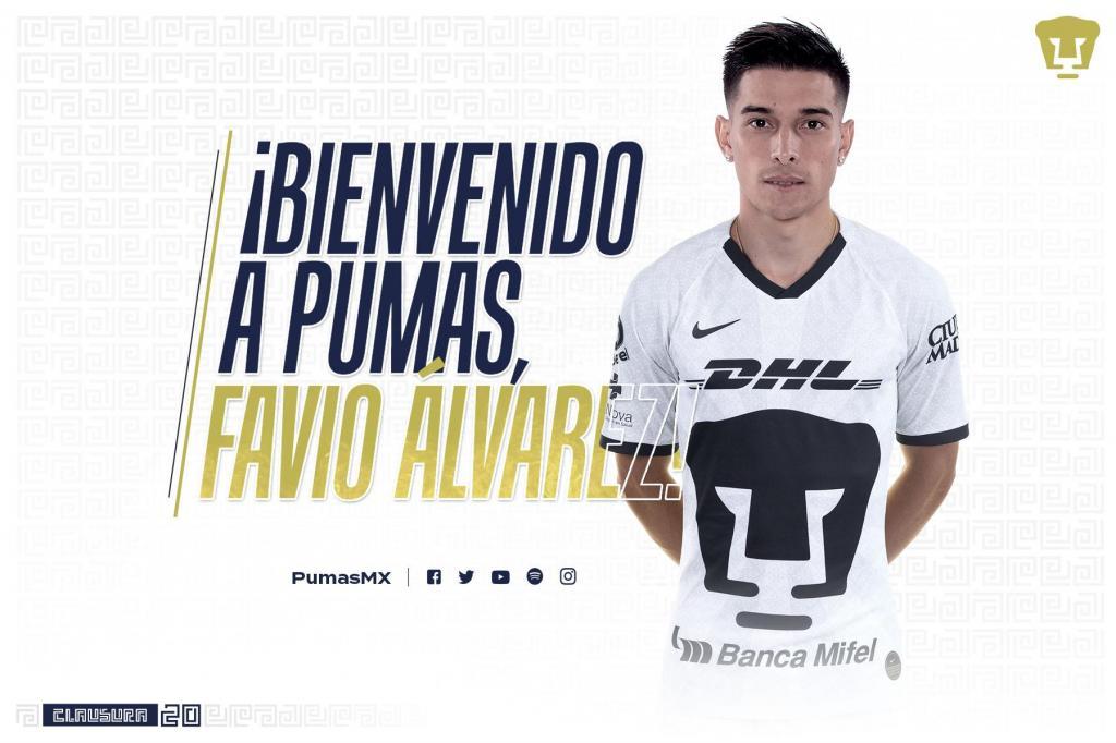 Favio Álvarez llega a Pumas