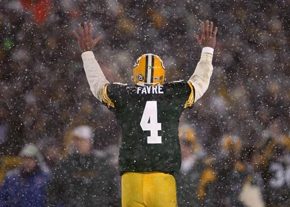 Brett Favre invitado por los Packers a la inducción de Holmgren al HoF del equipo