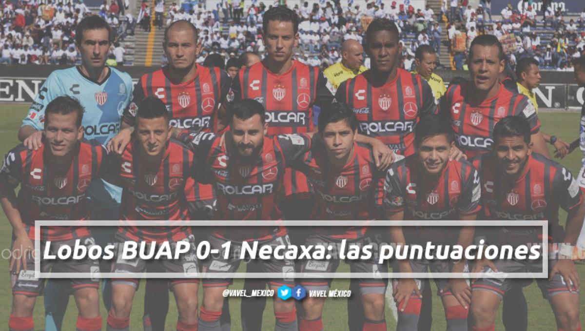 Lobos BUAP 0-1 Necaxa: puntuaciones de Necaxa en la jornada 15 de la Liga MX Clausura 2018