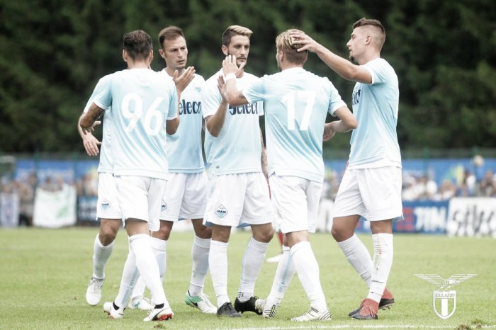 Lazio, Immobile e Keita stendono la Spal: è 2-0 ad Auronzo