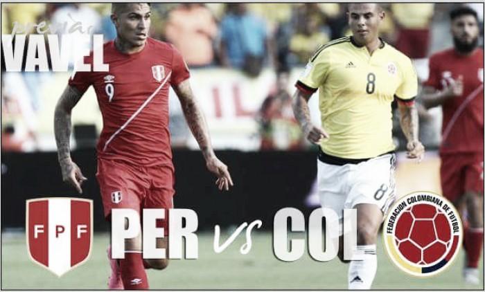 Perú - Colombia: en busca del paso a la semifinal
