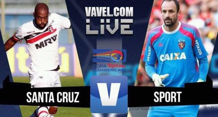 Resultado Santa Cruz x Sport na Copa Sul-Americana 2016 (0-0)