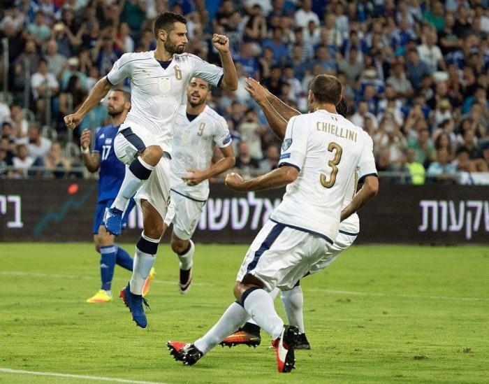 Italia ok su Israele: Candreva, Pellè e il CT commentano l'1-3