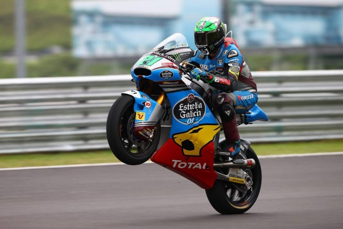 Morbidelli on top at end of Moto2's first day in Sepang