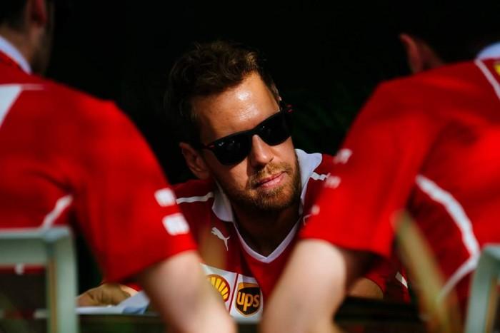 F1 - Vettel soddisfatto a metà del venerdì
