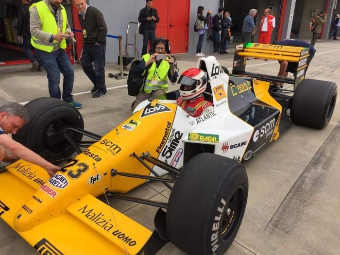 Historic Minardi Day - A tu per tu con... Emanuele Pirro
