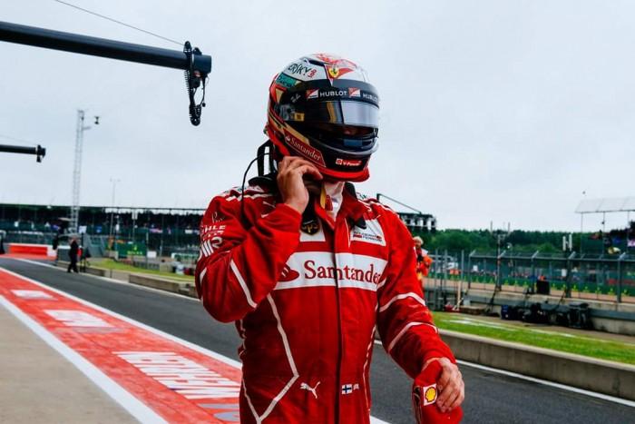 """F1, Gp di Gran Bretagna - Raikkonen: """"Con un buon gioco di squadra Hamilton si può battere"""""""