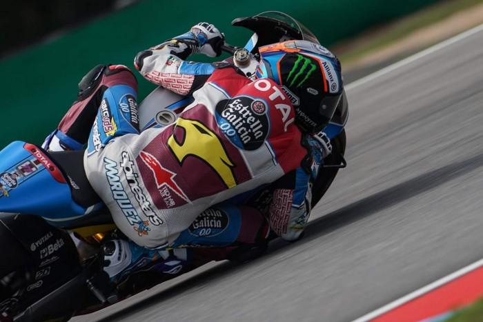 Moto2, Marquez fa sua la FP3 a Brno, Morbidelli 2°