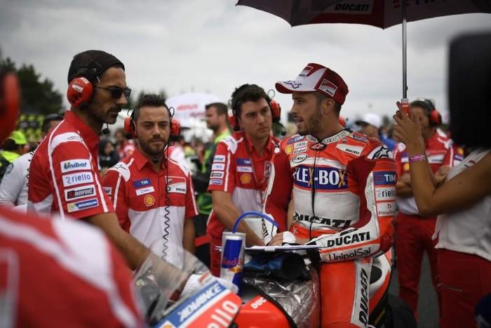 MotoGp, Ducati - Dovi di rimonta, ma che errore!