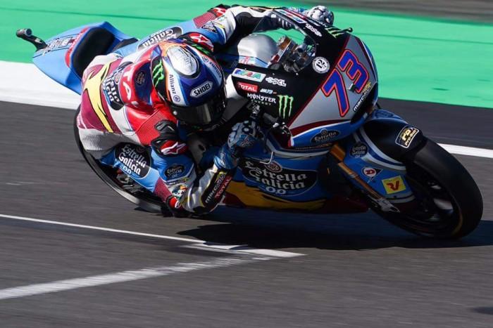 Moto2, Gp di Gran Bretagna - Marquez chiude in testa le FP3