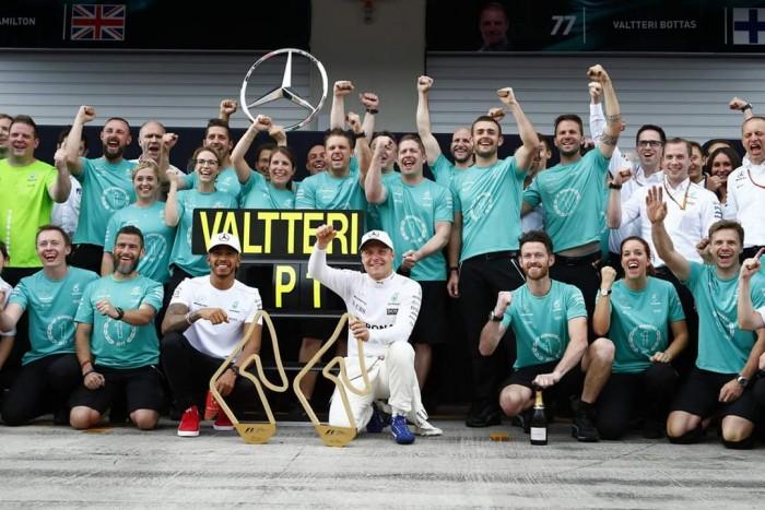 F1, Mercedes - UFFICIALE: Valtteri Bottas rinnova per il 2018