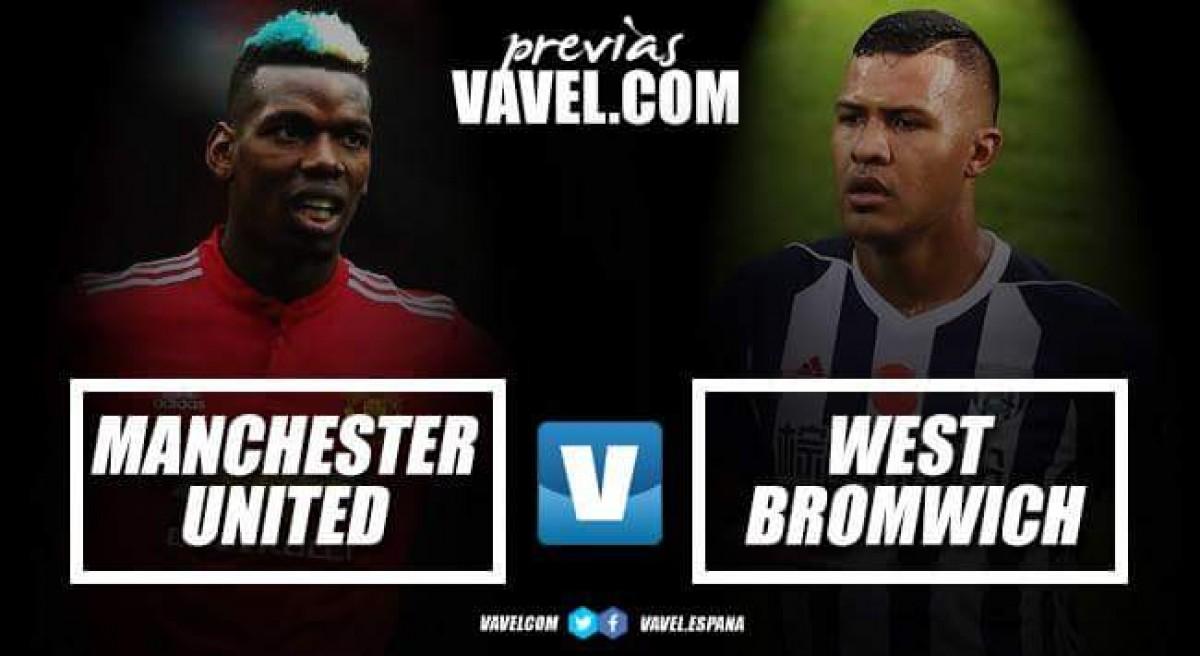 Previa Manchester United - West Bromwich Albion: Mantener el suspenso