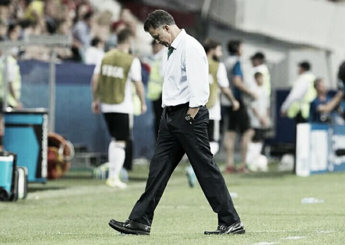 """Osorio atenta para rendimento ruim do México em derrota para Suécia: """"É uma lição"""""""