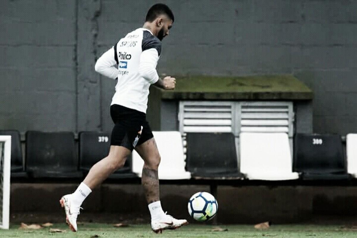 Santos pode ter retorno de Gabigol para o clássico contra Palmeiras