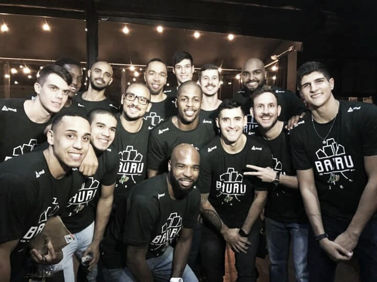 Bauru Basket apresenta elenco para temporada 2018-19