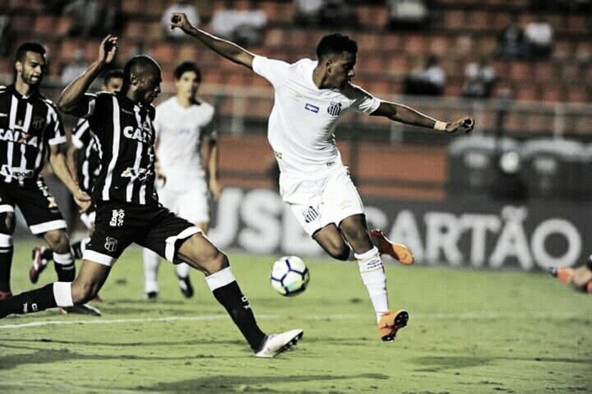 Na briga contra rebaixamento, Ceará recebe Santos pelo Campeonato Brasileiro