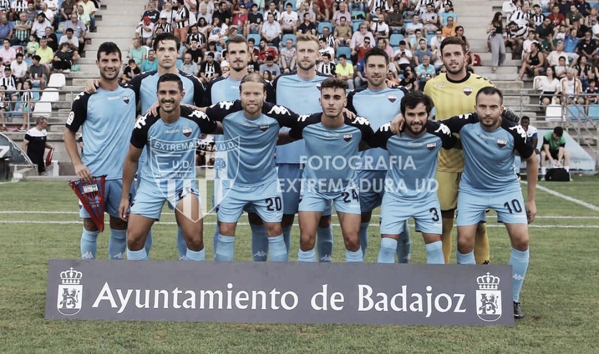 Táctica y formación Extremadura UD 18/19: un juego intenso