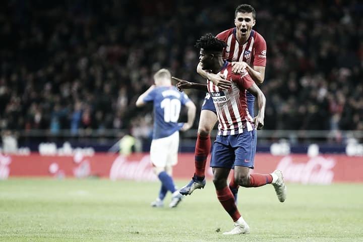Godín marca no fim e Atlético de Madrid vence Athletic Bilbao de virada
