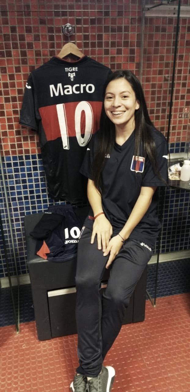 """Magalí Gómez: """"Soy muy exigente conmigo misma"""""""