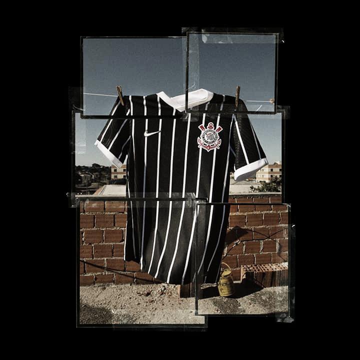 Corinthians lança novo uniforme reserva para temporada 2020