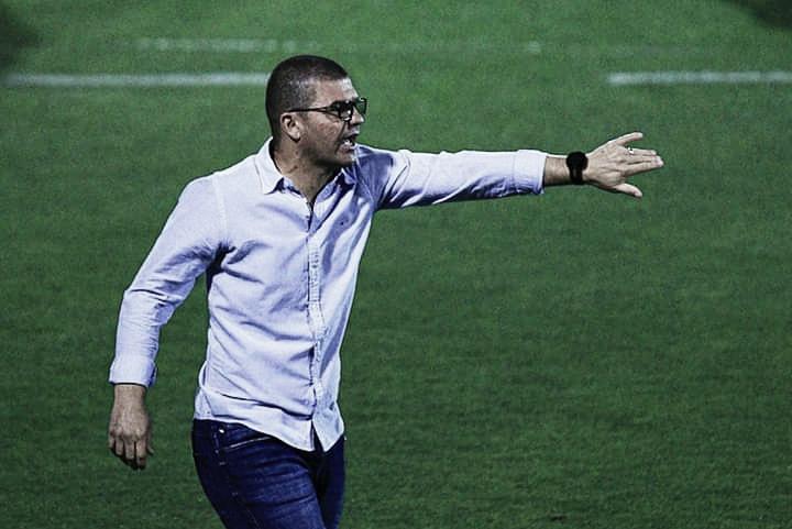 """Louzer valoriza empate da Chapecoense apesar de desgaste físico dos atletas: """"Valorizar esse ponto"""""""