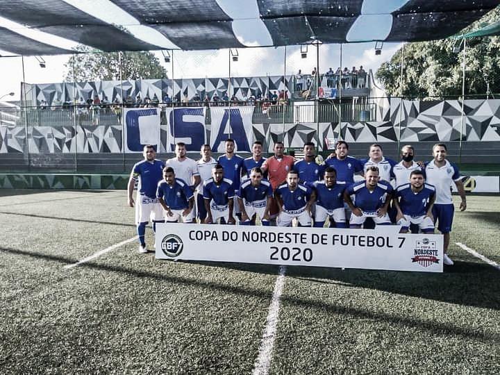 CSA bate o UZR-CE e conquista Copa do Nordeste Fut7