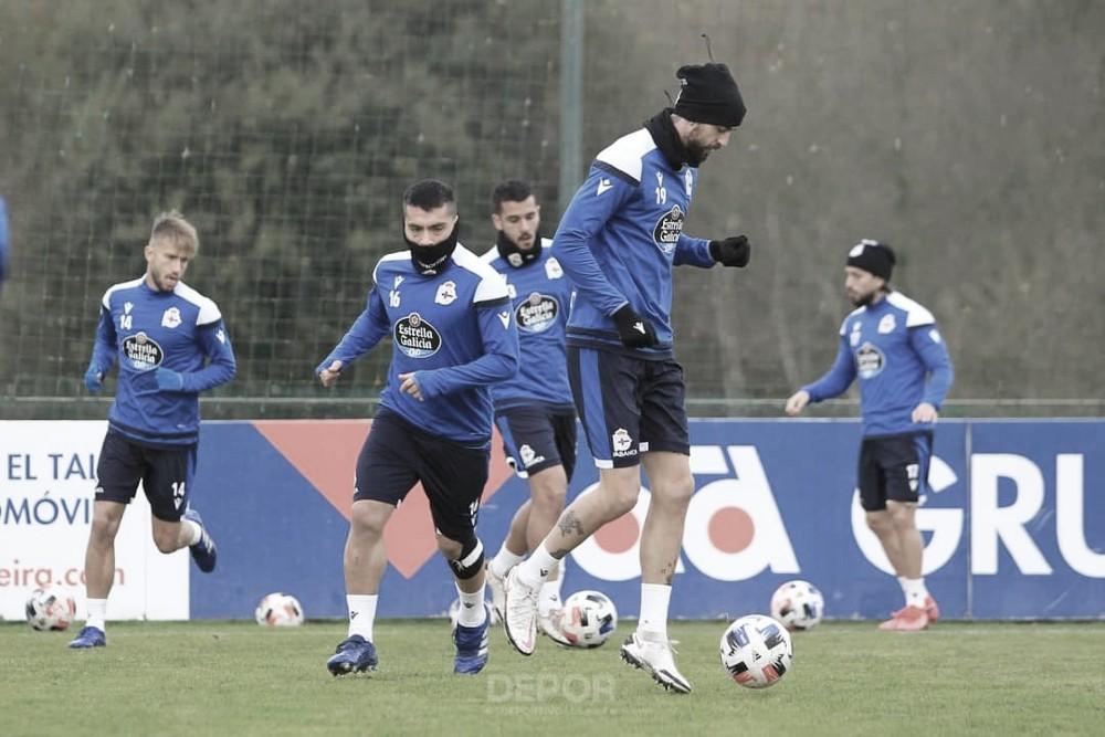 Charla táctica de cara al partido frente al Pontevedra