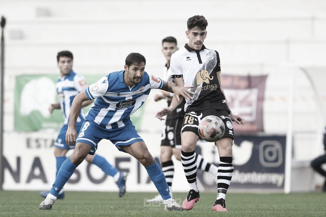 Resumen Deportivo de la Coruña vs Unionistas de Salamanca en directo online en Segunda División B (0-0)