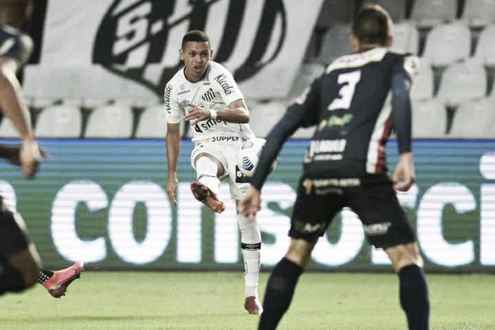 Com golaço de Marcos Guilherme, Santos vence Cianorte e se classifica às oitavas