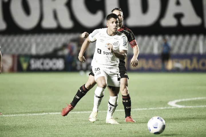 Gols e melhores momentos Santos x Flamengo pelo Campeonato Brasileiro (0-4)