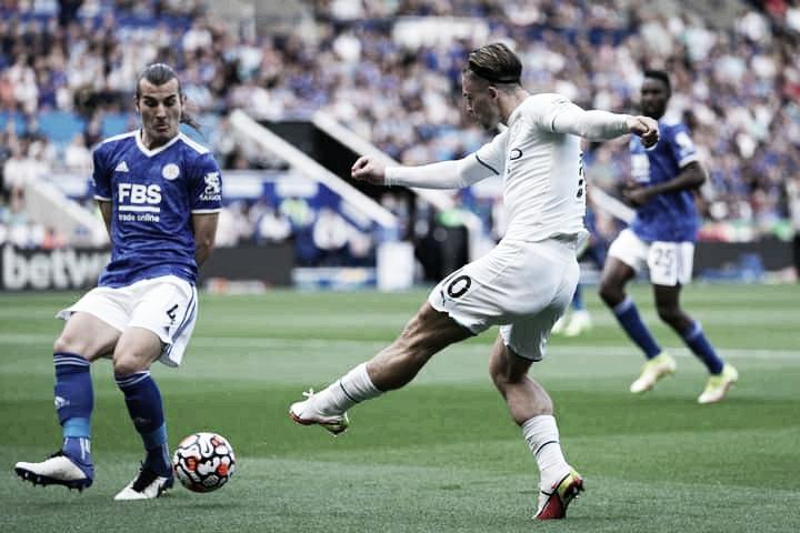 Bernardo Silva marca, City vence Leicester e encosta na liderança