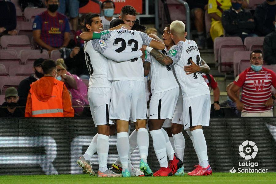 FC Barcelona - Granada CF: puntuaciones del Granada, jornada 5 de LaLiga