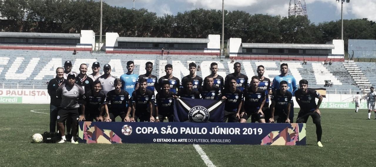 Nos pênaltis, Manthiqueira vence Tubarão e se classifica na Copa São Paulo Júnior