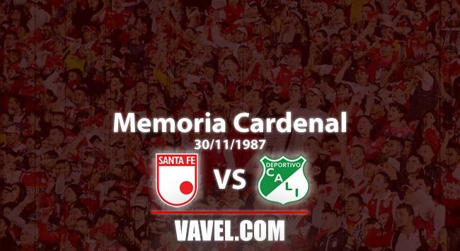 Memoria 'cardenal': Deportivo Cali 0 Santa Fe 1, al 'león' no lo asusta la amenaza 'verde'