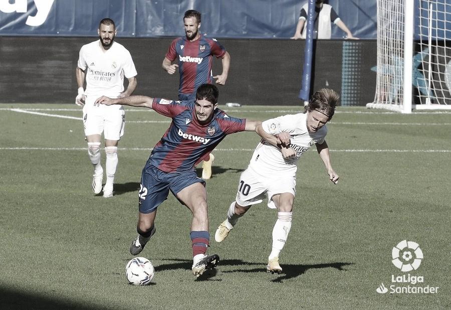 Horario y dónde ver el Real Madrid - Levante