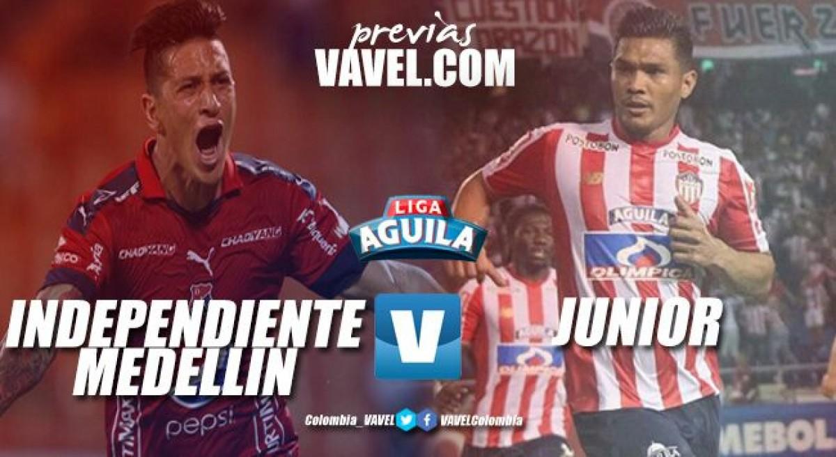 Previa Deportivo Independiente Medellín - Junior: tres puntos más que necesarios