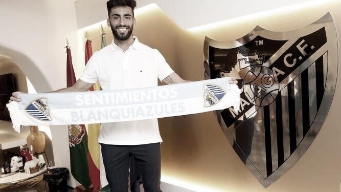 Juande renueva con el Málaga CF para cerrar el mercado
