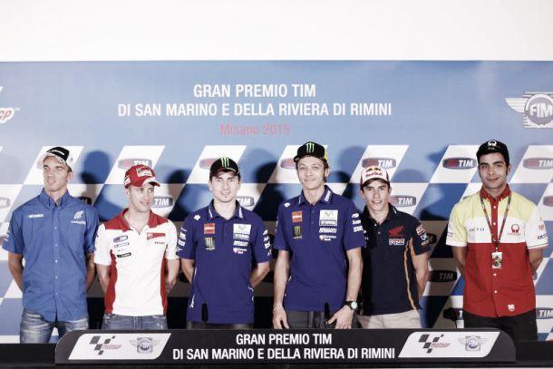 MotoGP, le dichiarazioni dei piloti durante la conferenza stampa a Misano