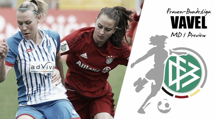 Frauen-Bundesliga - Matchday 1 Preview: the German league returns with even more intrigue