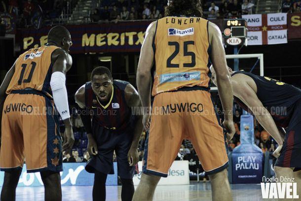 Fotos e imágenes del FC Barcelona 76 - 57 Valencia Basket, 7ª jornada de la Liga Endesa