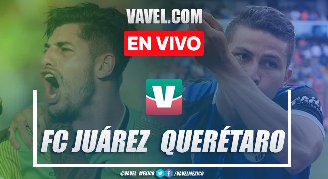 Resumen y video goles FC Juárez 0-2 Querétaro en Apertura 2019 Liga MX