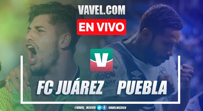 Resumen y video goles Puebla 2-1 FC Juárez en Liga MX 2019