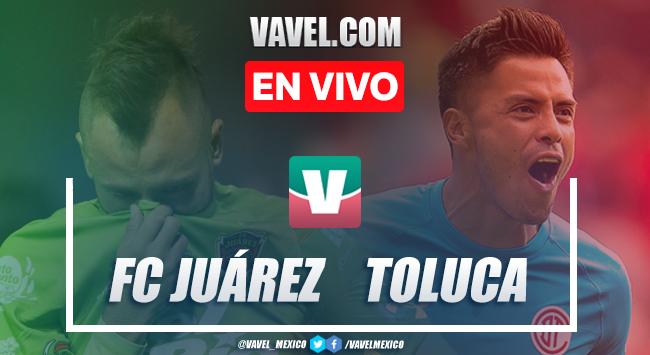 Resumen y video goles FC Juárez 2-0 Toluca en Apertura 2019