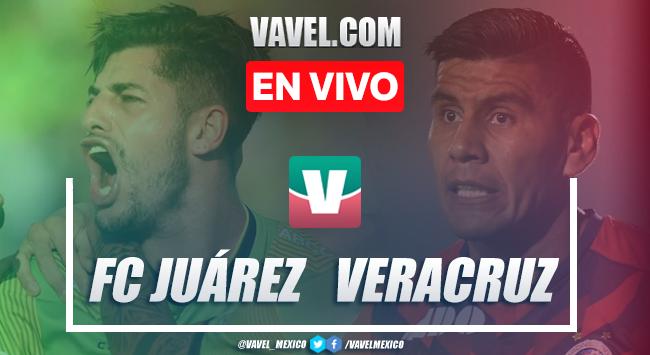 Resumen y video goles: FC Juárez vs Veracruz (2-0), 2019 Liga MX