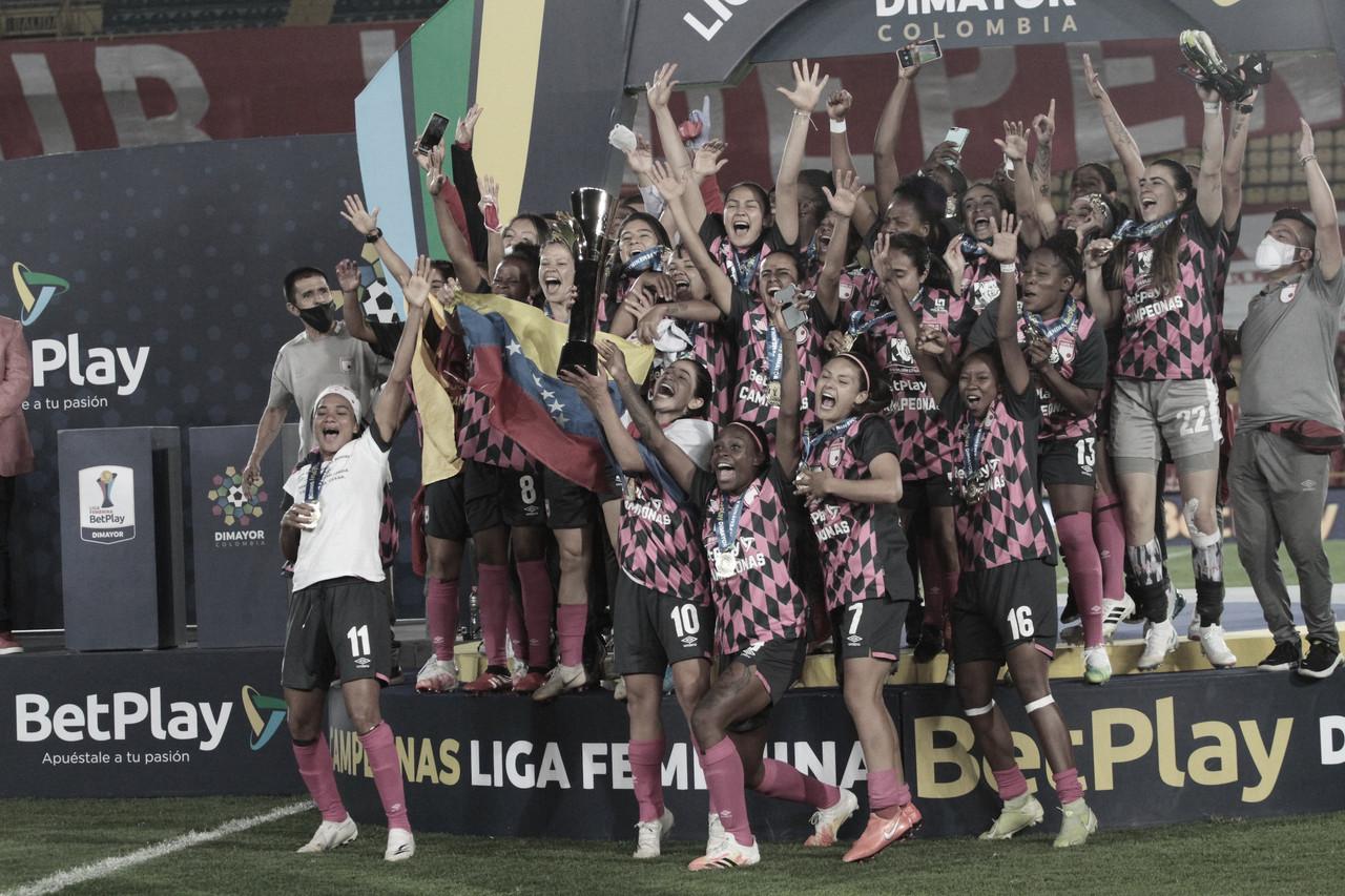¡Santa Fe, campeón de la Liga Femenina BetPlay 2020!