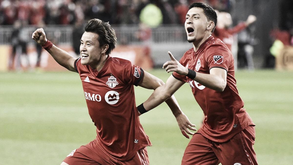 Toronto FC pasa a semis goleando