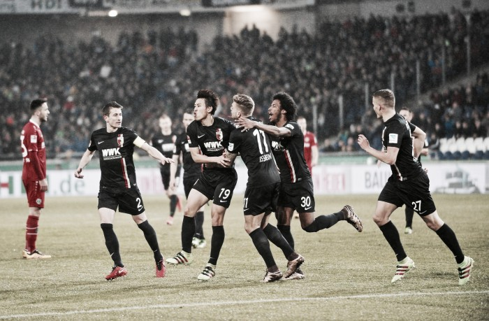 Hannover 96 0-1 FC Augsburg: Fuggerstädter get crucial smash and grab win