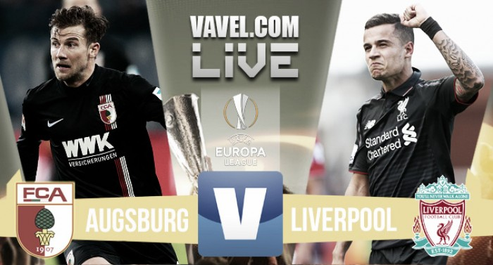Liverpool control the game but will only take a 0-0 draw into second leg against Augsburg